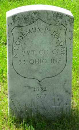 JEROME, NICODEMUS P. - Franklin County, Ohio | NICODEMUS P. JEROME - Ohio Gravestone Photos