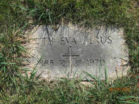 JERUS, FAITH EVA - Franklin County, Ohio | FAITH EVA JERUS - Ohio Gravestone Photos