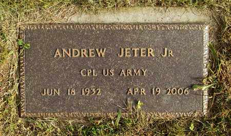 JETER, ANDREW - Franklin County, Ohio | ANDREW JETER - Ohio Gravestone Photos