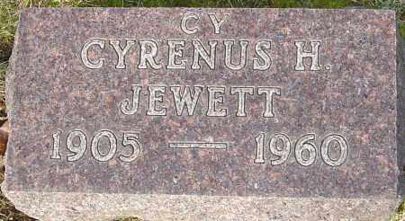 JEWETT, CYRENUS - Franklin County, Ohio | CYRENUS JEWETT - Ohio Gravestone Photos