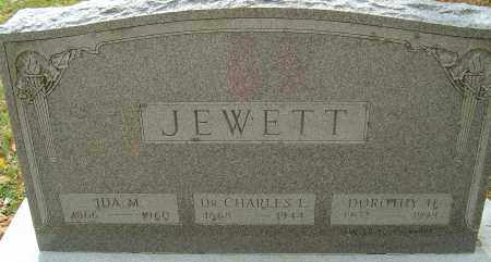 JEWETT, IDA M - Franklin County, Ohio | IDA M JEWETT - Ohio Gravestone Photos