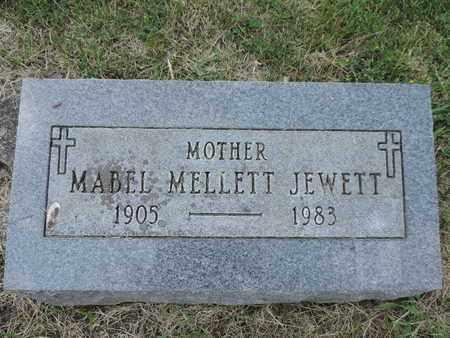 JEWETT, MABEL - Franklin County, Ohio | MABEL JEWETT - Ohio Gravestone Photos
