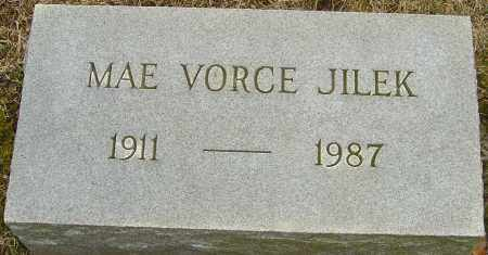 VORCE JILEK, MAE - Franklin County, Ohio | MAE VORCE JILEK - Ohio Gravestone Photos