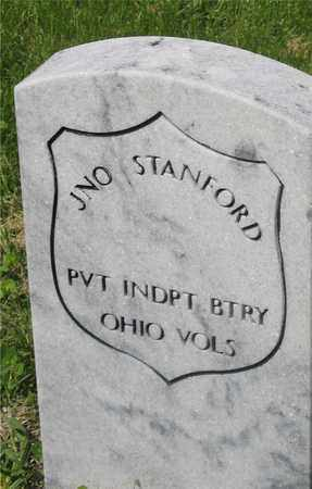 JNO., STANFORD - Franklin County, Ohio | STANFORD JNO. - Ohio Gravestone Photos