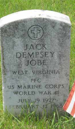 JOBE, JACK DEMPSEY - Franklin County, Ohio | JACK DEMPSEY JOBE - Ohio Gravestone Photos