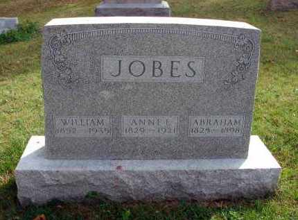 JOBES, ABRAHAM - Franklin County, Ohio | ABRAHAM JOBES - Ohio Gravestone Photos