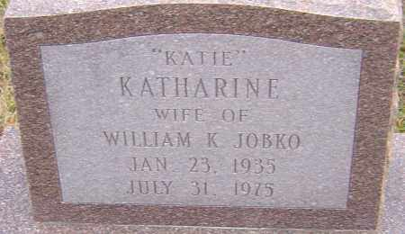 JOBKO, KATHARINE - Franklin County, Ohio | KATHARINE JOBKO - Ohio Gravestone Photos