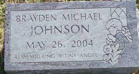 JOHNSON, BRAYDEN MICHAEL - Franklin County, Ohio | BRAYDEN MICHAEL JOHNSON - Ohio Gravestone Photos