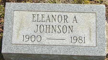 JOHNSON, ELEANOR A - Franklin County, Ohio | ELEANOR A JOHNSON - Ohio Gravestone Photos