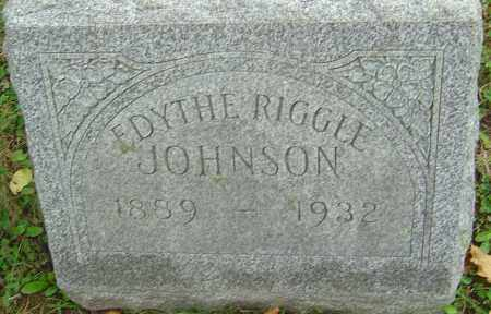 JOHNSON, EDYTHE - Franklin County, Ohio | EDYTHE JOHNSON - Ohio Gravestone Photos