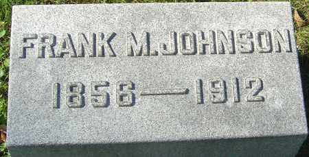 JOHNSON, FRANK M - Franklin County, Ohio | FRANK M JOHNSON - Ohio Gravestone Photos