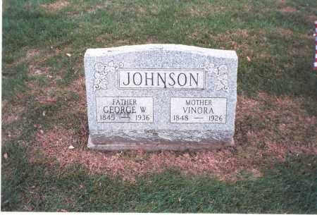 JOHNSON, VINORA - Franklin County, Ohio | VINORA JOHNSON - Ohio Gravestone Photos