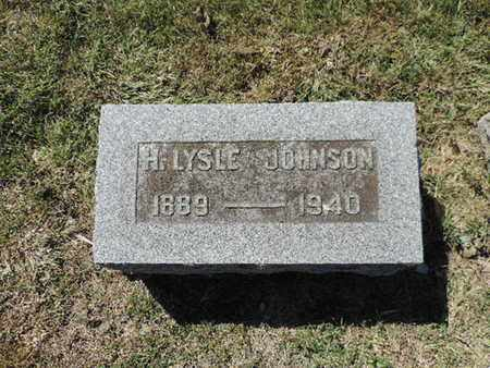 JOHNSON, H. LYSLE - Franklin County, Ohio | H. LYSLE JOHNSON - Ohio Gravestone Photos
