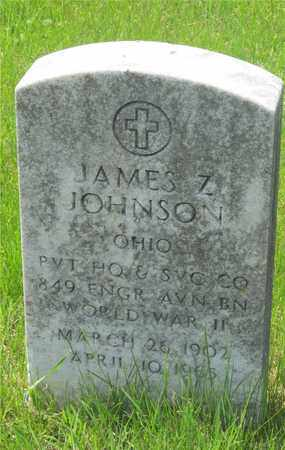 JOHNSON, JAMES Z. - Franklin County, Ohio | JAMES Z. JOHNSON - Ohio Gravestone Photos