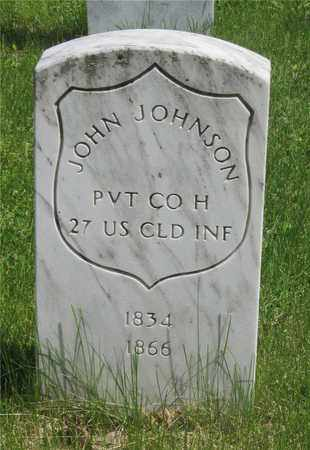 JOHNSON, JOHN - Franklin County, Ohio | JOHN JOHNSON - Ohio Gravestone Photos