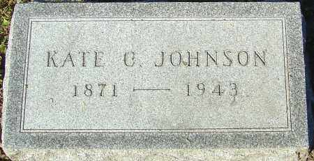 GIFFIN JOHNSON, KATE C - Franklin County, Ohio | KATE C GIFFIN JOHNSON - Ohio Gravestone Photos