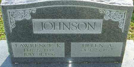 JOHNSON, LAWRENCE - Franklin County, Ohio | LAWRENCE JOHNSON - Ohio Gravestone Photos