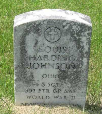 JOHNSON, LOUIS HARDING - Franklin County, Ohio | LOUIS HARDING JOHNSON - Ohio Gravestone Photos