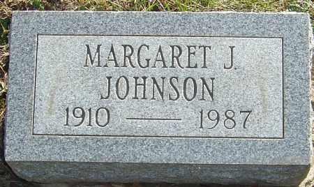 JOHNSON, MARGARET J - Franklin County, Ohio | MARGARET J JOHNSON - Ohio Gravestone Photos