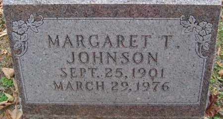 JOHNSON, MARGARET T - Franklin County, Ohio | MARGARET T JOHNSON - Ohio Gravestone Photos