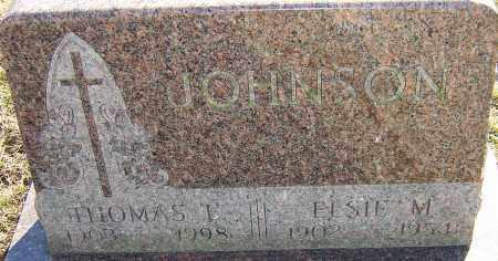 JOHNSON, THOMAS E - Franklin County, Ohio | THOMAS E JOHNSON - Ohio Gravestone Photos