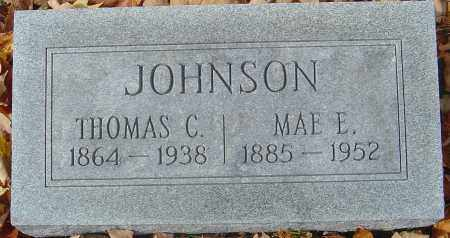 JOHNSON, THOMAS C - Franklin County, Ohio | THOMAS C JOHNSON - Ohio Gravestone Photos
