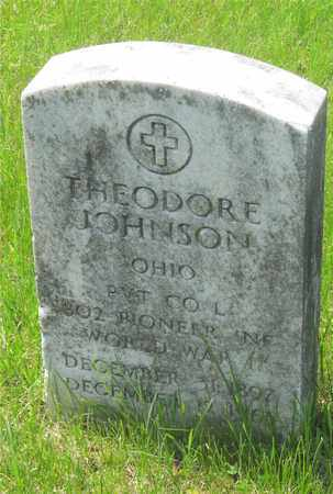 JOHNSON, THEODORE - Franklin County, Ohio | THEODORE JOHNSON - Ohio Gravestone Photos