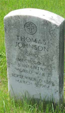 JOHNSON, THOMAS - Franklin County, Ohio | THOMAS JOHNSON - Ohio Gravestone Photos