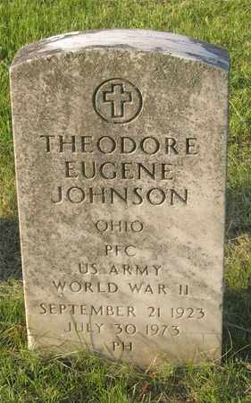 JOHNSON, THEODORE EUGENE - Franklin County, Ohio | THEODORE EUGENE JOHNSON - Ohio Gravestone Photos