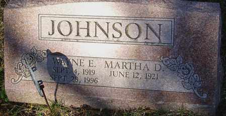 JOHNSON, WAYNE E - Franklin County, Ohio | WAYNE E JOHNSON - Ohio Gravestone Photos