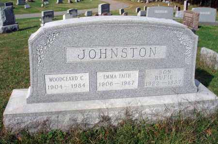 JOHNSTON, RUFIE - Franklin County, Ohio | RUFIE JOHNSTON - Ohio Gravestone Photos