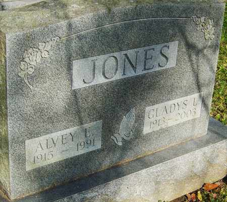JONES, ALVEY - Franklin County, Ohio | ALVEY JONES - Ohio Gravestone Photos