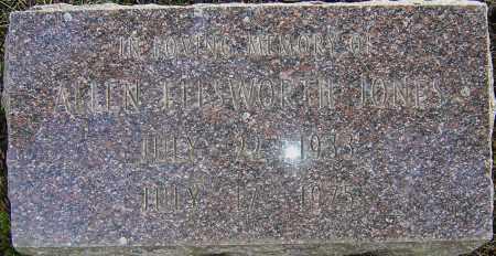 JONES, ALLEN ELLSWORTH - Franklin County, Ohio   ALLEN ELLSWORTH JONES - Ohio Gravestone Photos