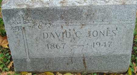 JONES, DAVID C - Franklin County, Ohio | DAVID C JONES - Ohio Gravestone Photos