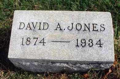 JONES, DAVID A. - Franklin County, Ohio | DAVID A. JONES - Ohio Gravestone Photos