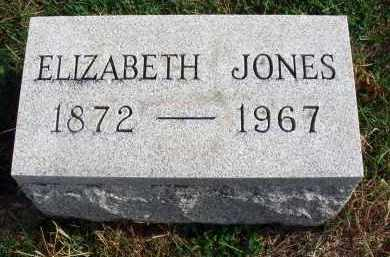 JONES, ELIZABETH - Franklin County, Ohio | ELIZABETH JONES - Ohio Gravestone Photos