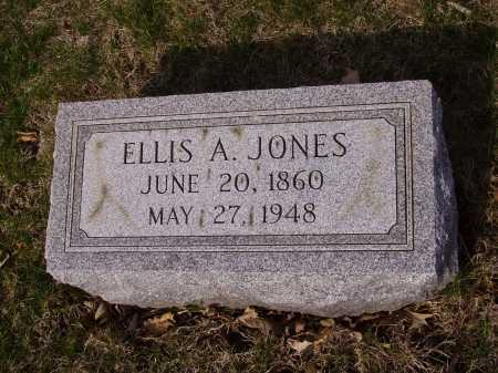 JONES, ELLIS A. - Franklin County, Ohio | ELLIS A. JONES - Ohio Gravestone Photos