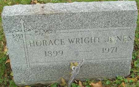 JONES, HORACE WRIGHT - Franklin County, Ohio | HORACE WRIGHT JONES - Ohio Gravestone Photos