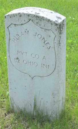JONES, HIRAM - Franklin County, Ohio | HIRAM JONES - Ohio Gravestone Photos