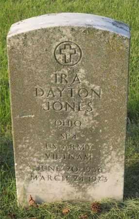 JONES, IRA DAYTON - Franklin County, Ohio | IRA DAYTON JONES - Ohio Gravestone Photos