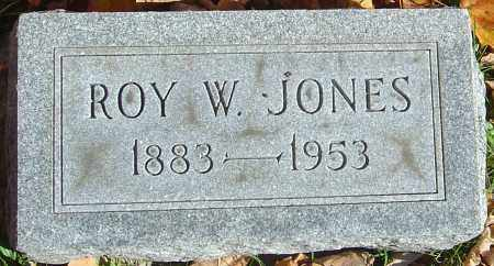 JONES, ROY W - Franklin County, Ohio | ROY W JONES - Ohio Gravestone Photos