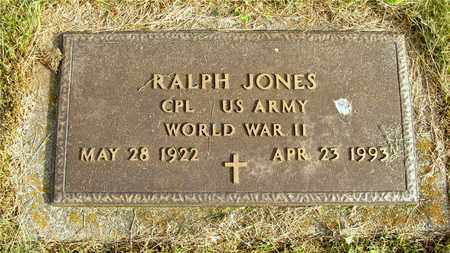 JONES, RALPH - Franklin County, Ohio | RALPH JONES - Ohio Gravestone Photos