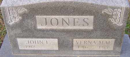 JONES, VERNA MAE - Franklin County, Ohio | VERNA MAE JONES - Ohio Gravestone Photos