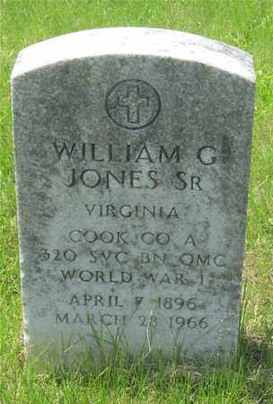 JONES, WILLIAM G. - Franklin County, Ohio | WILLIAM G. JONES - Ohio Gravestone Photos