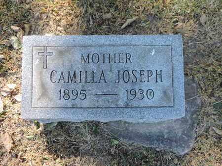 JOSEPH, CAMILLA - Franklin County, Ohio | CAMILLA JOSEPH - Ohio Gravestone Photos