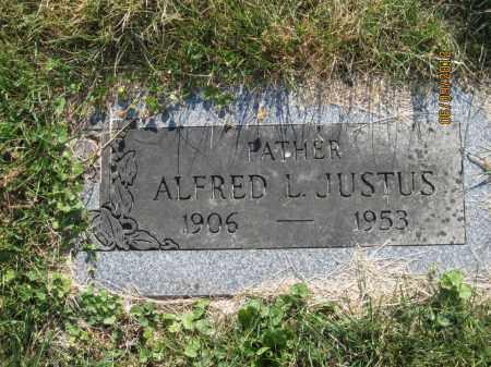 JUSTUS, ALFRED LEO - Franklin County, Ohio | ALFRED LEO JUSTUS - Ohio Gravestone Photos