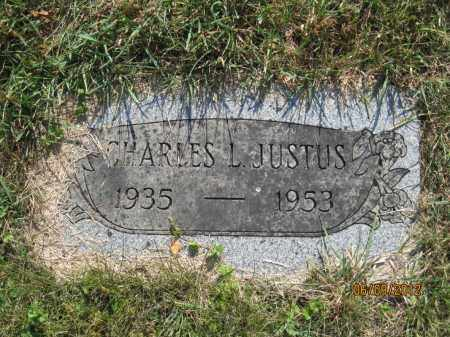 JUSTUS, CHARLES LEE - Franklin County, Ohio | CHARLES LEE JUSTUS - Ohio Gravestone Photos