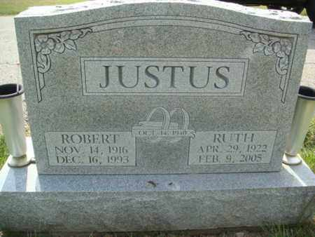 JUSTUS, ROBERT - Franklin County, Ohio | ROBERT JUSTUS - Ohio Gravestone Photos
