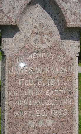 KAARAN, JAMES WILLIAM - Franklin County, Ohio   JAMES WILLIAM KAARAN - Ohio Gravestone Photos