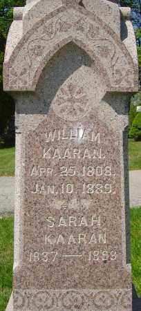 KAARAN, SARAH - Franklin County, Ohio | SARAH KAARAN - Ohio Gravestone Photos